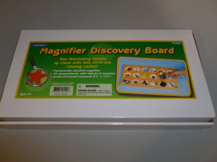 Lakeshore Learning Magnifier Discovery Board Viewing Center With Magnifier in Toys & Hobbies, Educational, Reading & Writing, Grade School | eBay