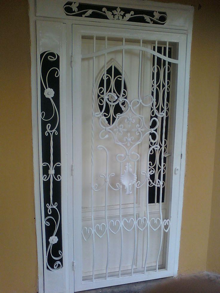 Resultado de imagen para dise os rejas en hierro forjado - Rejas de hierro para puertas ...
