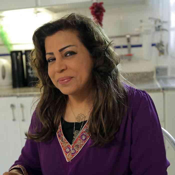 فخرية خميس من داخل المستشفى بعد إصابتها بفيروس كورونا والسرطان