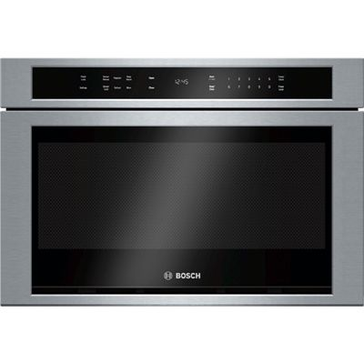 Bosch 24-in 1.2-cu ft Microwave Drawer (Stainless)