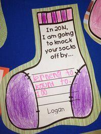 Chalk Talk: A Kindergarten Blog: Knock Your Socks Off New Year's Freebie