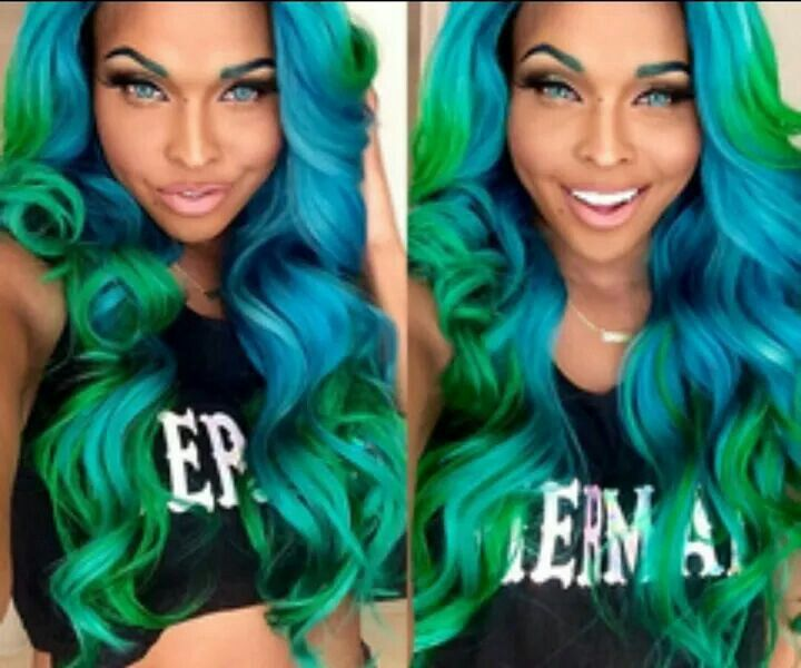 different hair styles of 27 best mermaid manes images on colourful 5155
