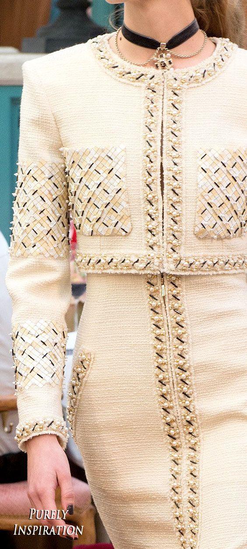 Chanel Pre-Fall 2017 Women's Fashion RTW   Purely Inspiration