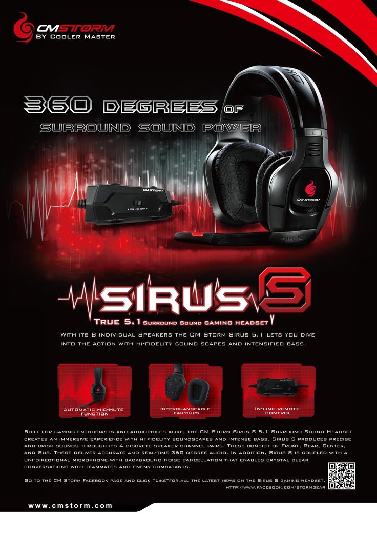 CM Storm Sirus S