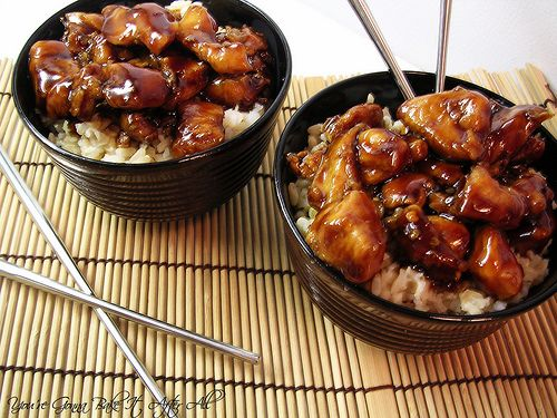 Bourbon Chicken (Note: Make sure you use Gluten Free soy sauce!!!)