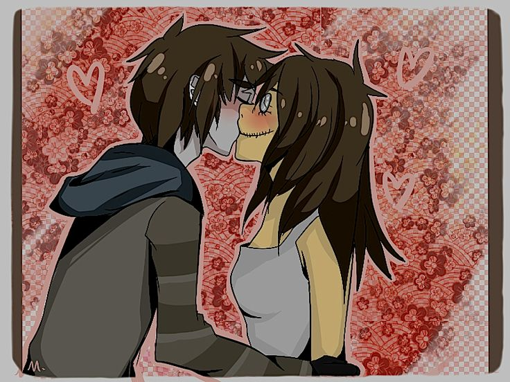 Toby and Clock's first kiss. :*