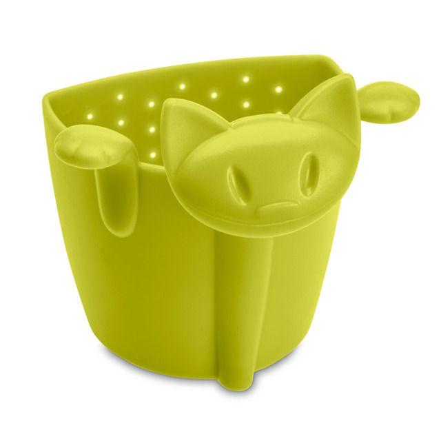 Zaparzacz do herbaty MIMMI - kolor zielony, KOZIOL - energetyczny zaparzacz, ożywi każdą kuchnię
