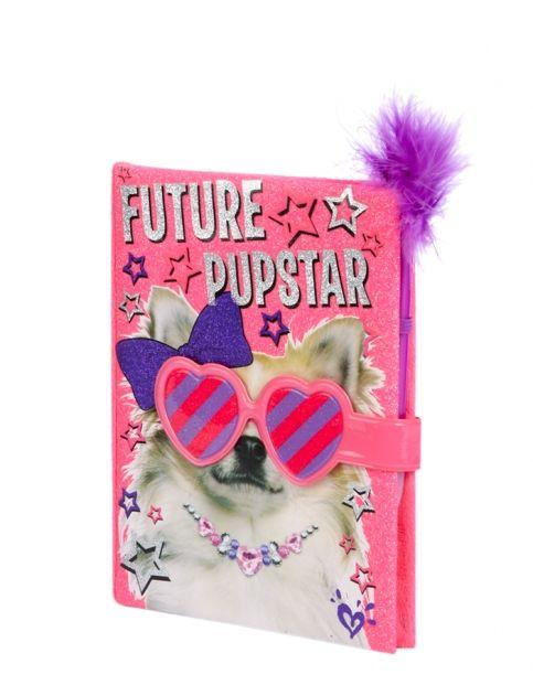 Magnetic Future Pupstar Diary Girls Journals Amp Writing