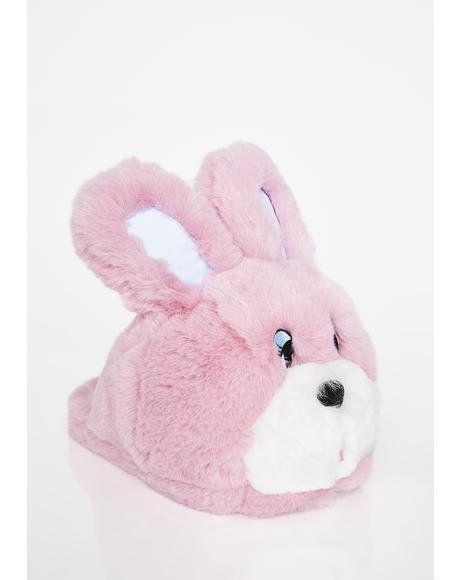 e9466da26fae Bunny Slippers  dollskill  lazyoaf  kawaii  pastel  bunny  slippers  pink   fluffy
