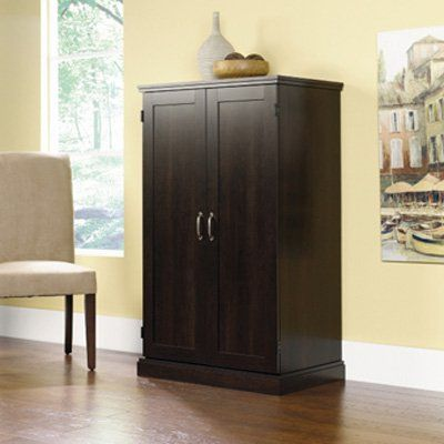 Have to have it. Sauder Computer Armoire - Cinnamon Cherry $157.99