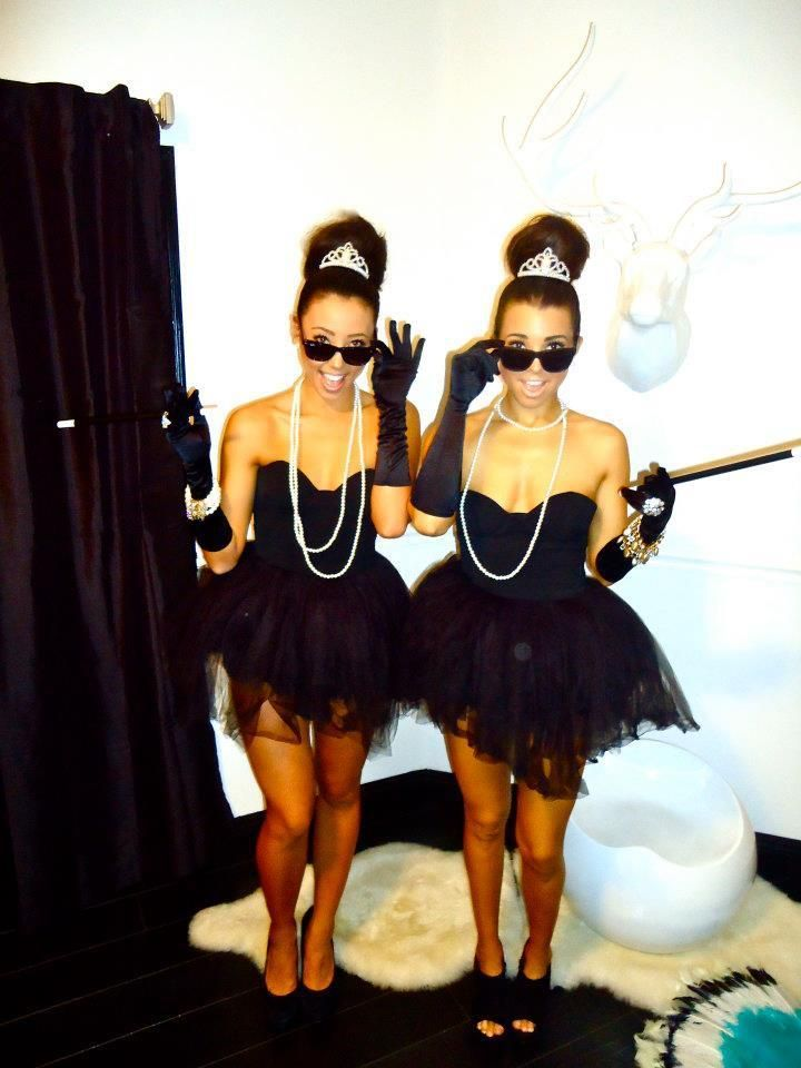 The Perfect Halloween Costumes for Sorority Sisters - PagebyPaige. - Twinning Breakfast At Tiffany's
