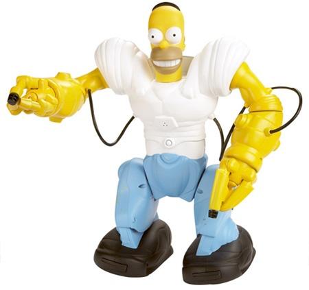 (Present) The Simpsons, Homer-sapien robot. A robot toy ...