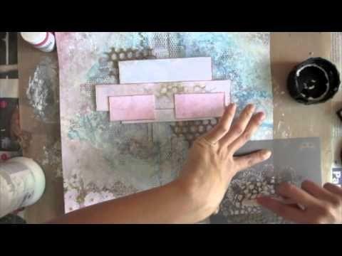 video Mixed Media Layout Tutorial - YouTube
