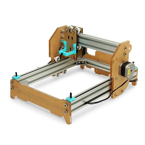 Desktop DIY Lasergravierer Cutter Graviermaschine Montieren Kit 17X20cm