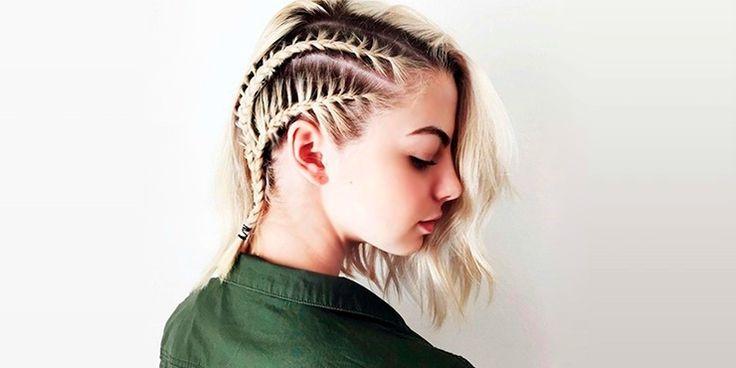 Trenzas que van bien con cualquier largo de cabello