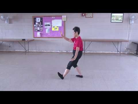 Lucy Leads: Yang Style Tai Chi 10 Form everydaytaichi lucy chun Honolulu, Hawaii - YouTube