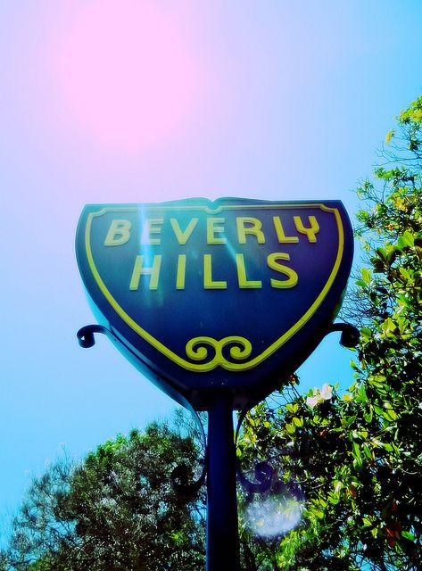 Beverly Hills #signs #LA #landmark