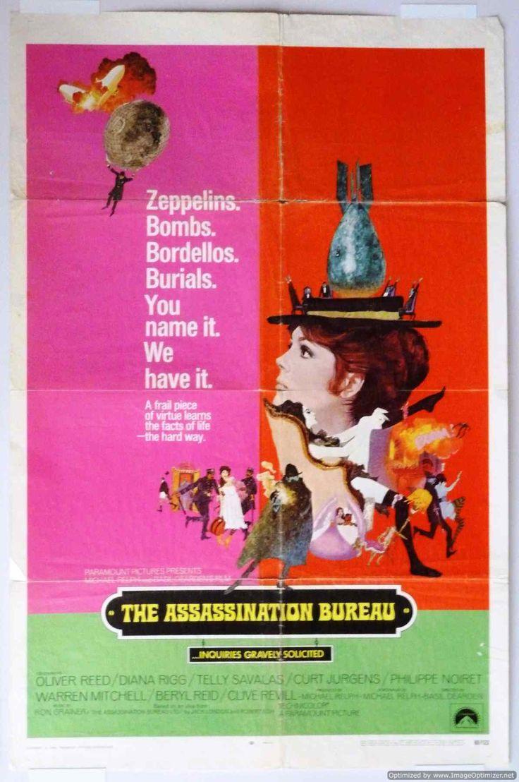 79 best images about film assassination bureau on for Bureau 13 movie