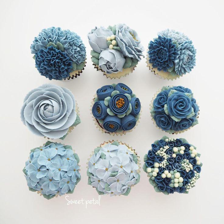 """3,639 Likes, 26 Comments - Flower Cake & Class (@sweetpetalcake) on Instagram: """"Flower buttercream cake"""""""