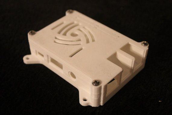 Raspberry Pi 3/2/B+ Case w/ VESA Mounts - 3D #accessories #case @EtsyMktgTool http://etsy.me/2rAJZDl