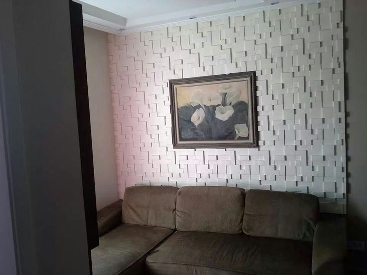 Source Sala Tv Board ~ parede com placa de gesso em mosaico  Sala Tv  Pinterest  Ems