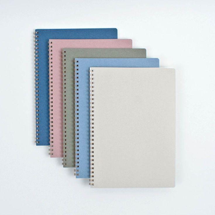 Plain B5 Spiral Notebook Green