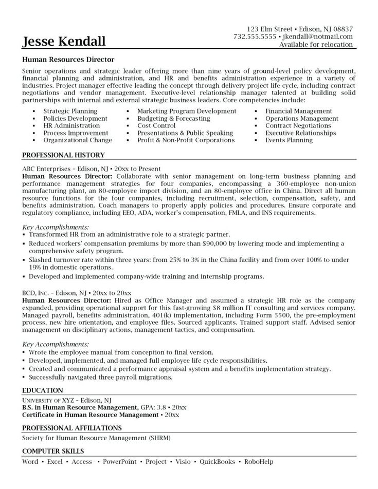 Benefits Manager Resume Summary 2019 Resume Cover Letter 2020