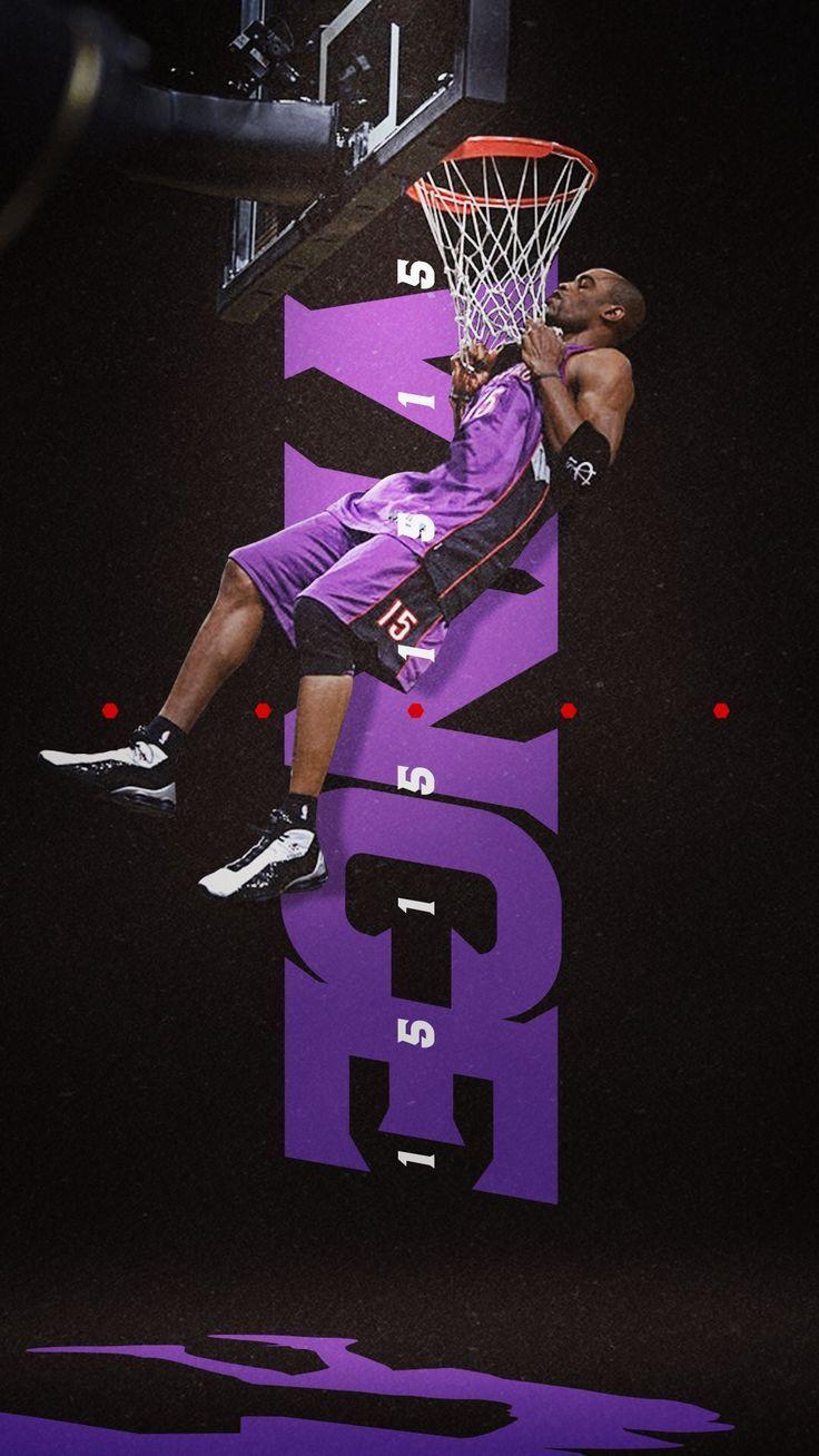 Vince Carter Vincecarter Toronto Raptors Carter Raptors Toronto Vince Vincecarter Sports Design Sports Graphic Design Sports Design Inspiration