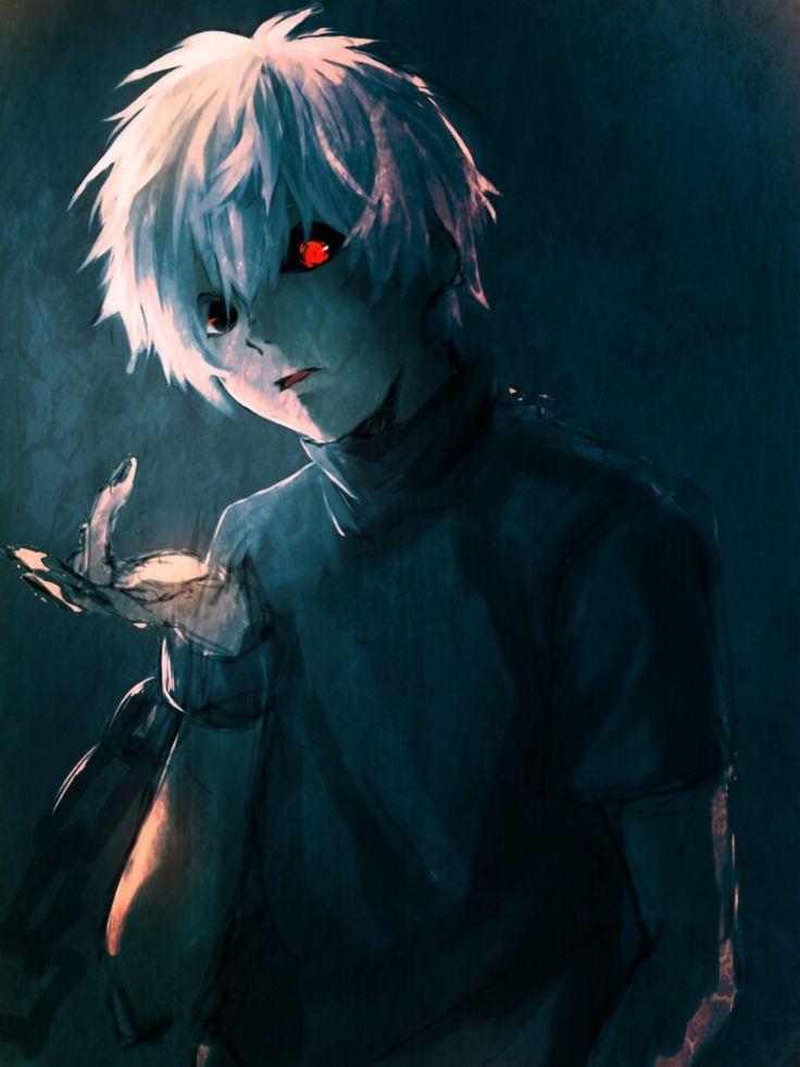 Tokyo Ghoul    Ken Kaneki: http://www.animedecoy.com/2015/08/top-10-male-anime-characters.html