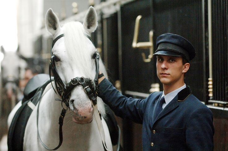 It takes the Spanish Riding School Stallions six years to complete their training