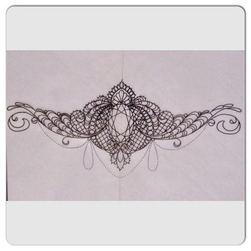 sternum under boob tattoo - Google-haku