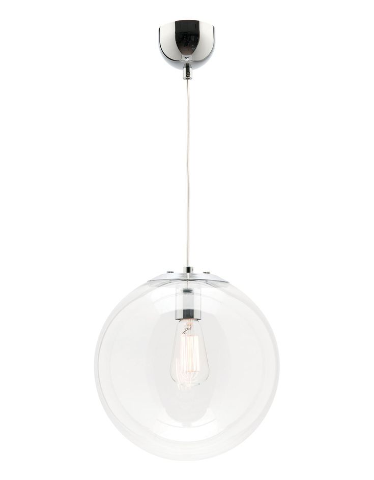 Buy Mercator Lighting's Toledo 1 Light Medium Pendant Clear - MP1631/30 at OnlineLighting.com.au. Visit our online store today or call us at 1300 791 345!
