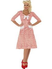 SALE! WWII 1940s Wartime Sweetheart Ladies Fancy Dress Costume Party Outfit