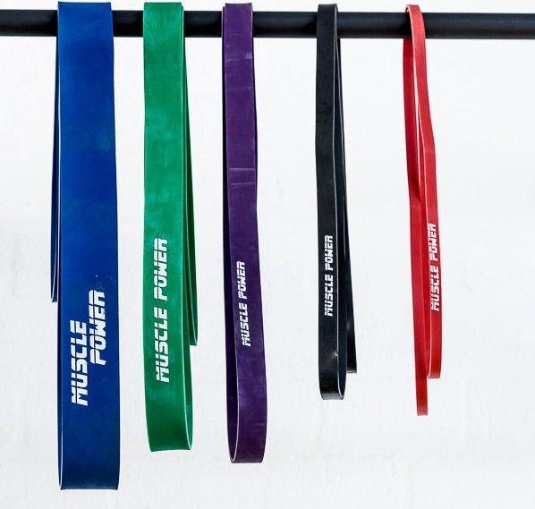 Power bands zijn weerstandsbanden welke voor een tal van verschillende trainingen kunnen worden gebruikt. De Power Bands worden tegenwoordig veel gebruikt bij de beoefenaars van de Fitness, krachtsporters en fysiotherapeuten. Het word vaak gebruikt om de algemene spierkracht te verbeteren, voorkoming van blessures en als hulp bij de revalidatie. De powerbands worden onder andere vaak gebruikt voor Suspension Training waarbij het gewicht van het lichaam als onderdeel van de traning wordt…