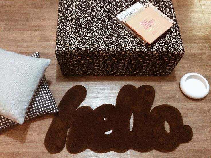 Hello rug by MOHOI