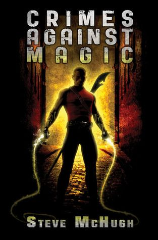 Crimes Against Magic (Hellequin Chronicles, #1) by Steve McHugh.  Urban fantasy with an Arthurian twist with flashbacks to the fifteenth century.  Exciting, but the mythology sections often require the reader to pay serious attention.