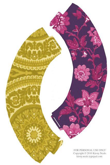 Free Printable Cute Cupcake Wrappers. Flores en Colores Psicodélicos: Wrappers para Cupcakes para Imprimir Gratis.