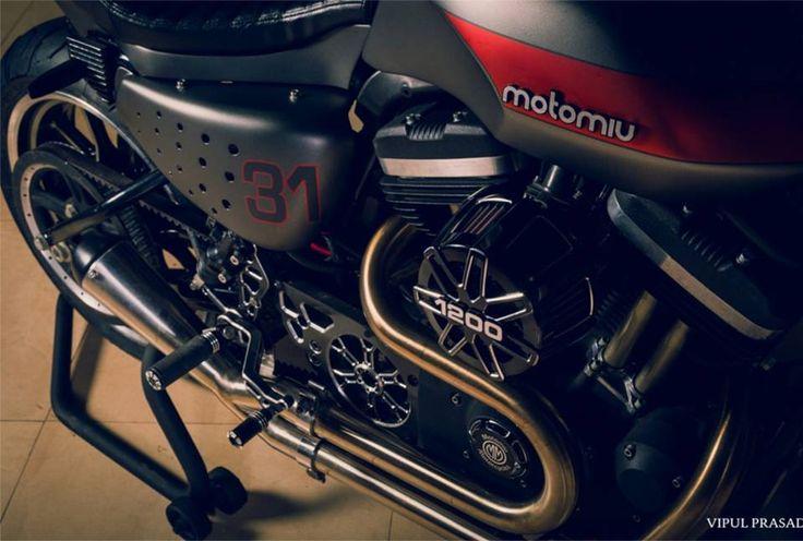 Sabretooth Harley Sportster 1200 cafe racer