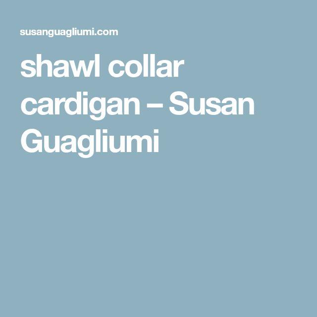 Ponad 25 najlepszych pomysłów na Pintereście na temat Shawl collar ...