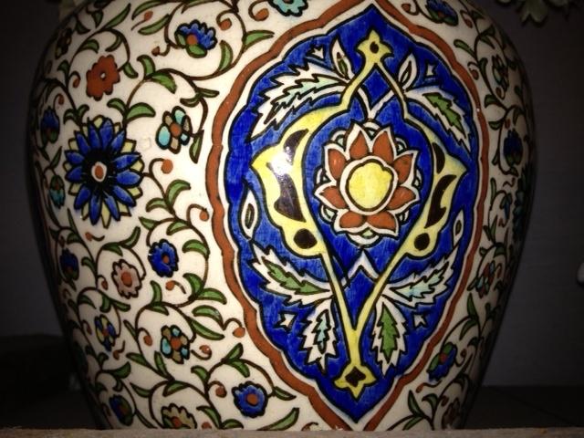 Large Kutahya vase