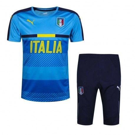 Maillot Training Italie Bleu