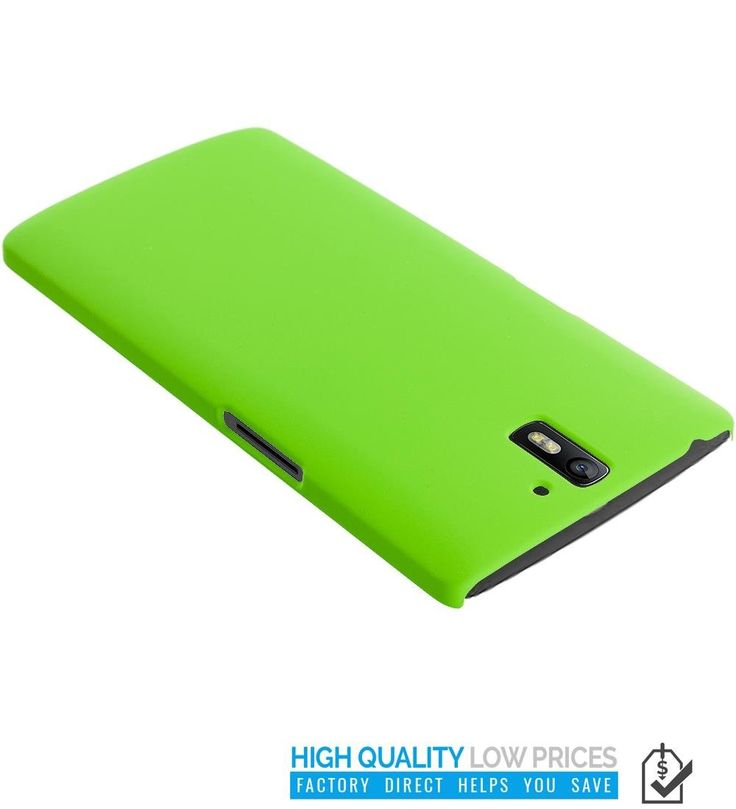 Amazon.com: OnePlus One Case, TechSpec(TM) Neon Green Hard Rubberized Back Cover Case for OnePlus One: Cell Phones & Accessories