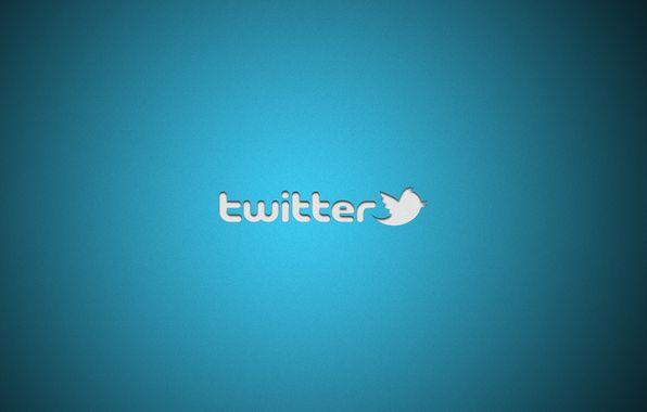 Wallpaper twitter, social networks, minimalism, brand, logo, social network wallpapers minimalism - download