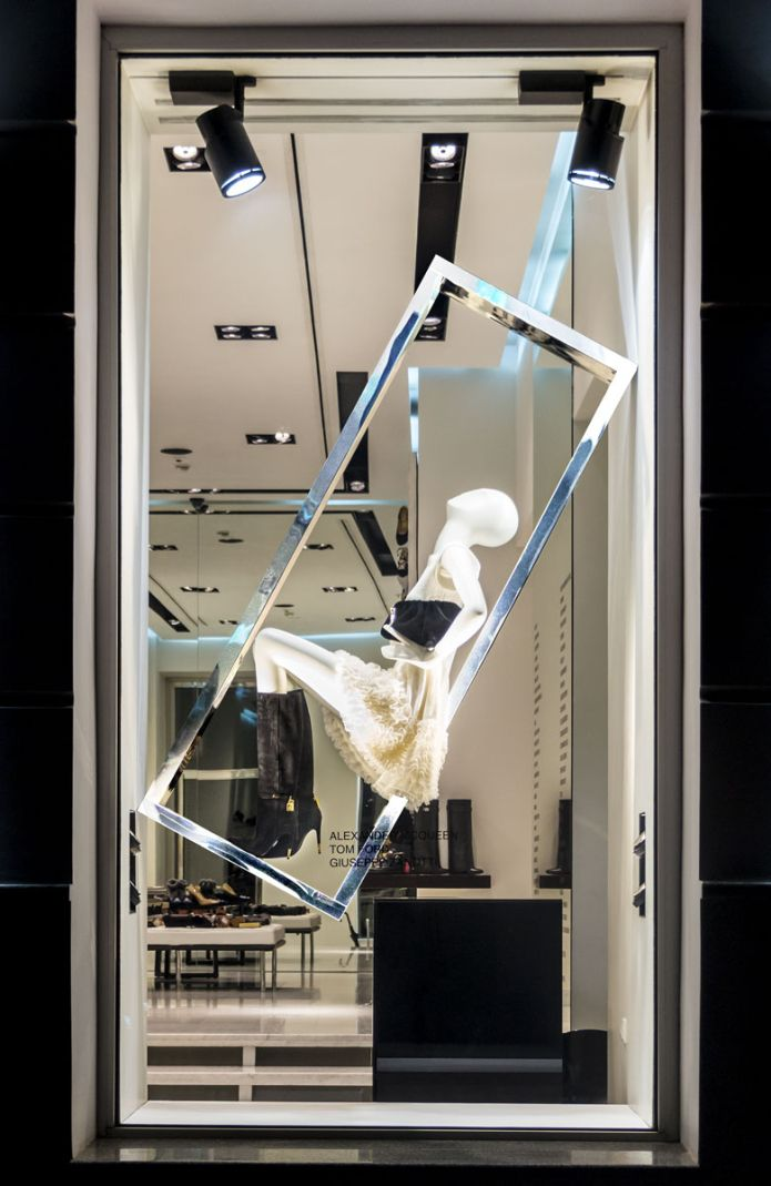 """SANAHUNT LUXURY CONCEPT STORE, Kiev, Ukraine, """"IMMATURE: A word boring people use to describe fun people"""", pinned by Ton van der Veer"""