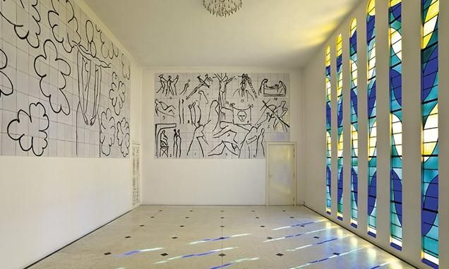 Station to Station: Matisse's Chapel in Vence | About the AR | Architectural Review: Matisse Chapel, Chapel Du, Chapelle Du, Henry Matisse, Matisse Index, De Venc, Architecture Review, New Books, Chapel Design