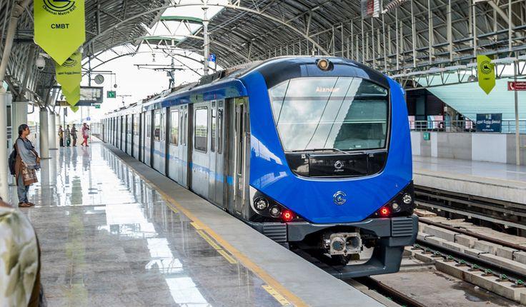 Chennai Metro: Safety inspection on Koyambedu-Nehru park underground stretch today #RailAnalysis #ChennaiMetro #CMRL