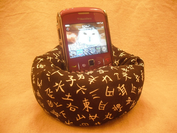 Cell Phone Bean Bag Chair Or Kindle Kouch Ereader Rest