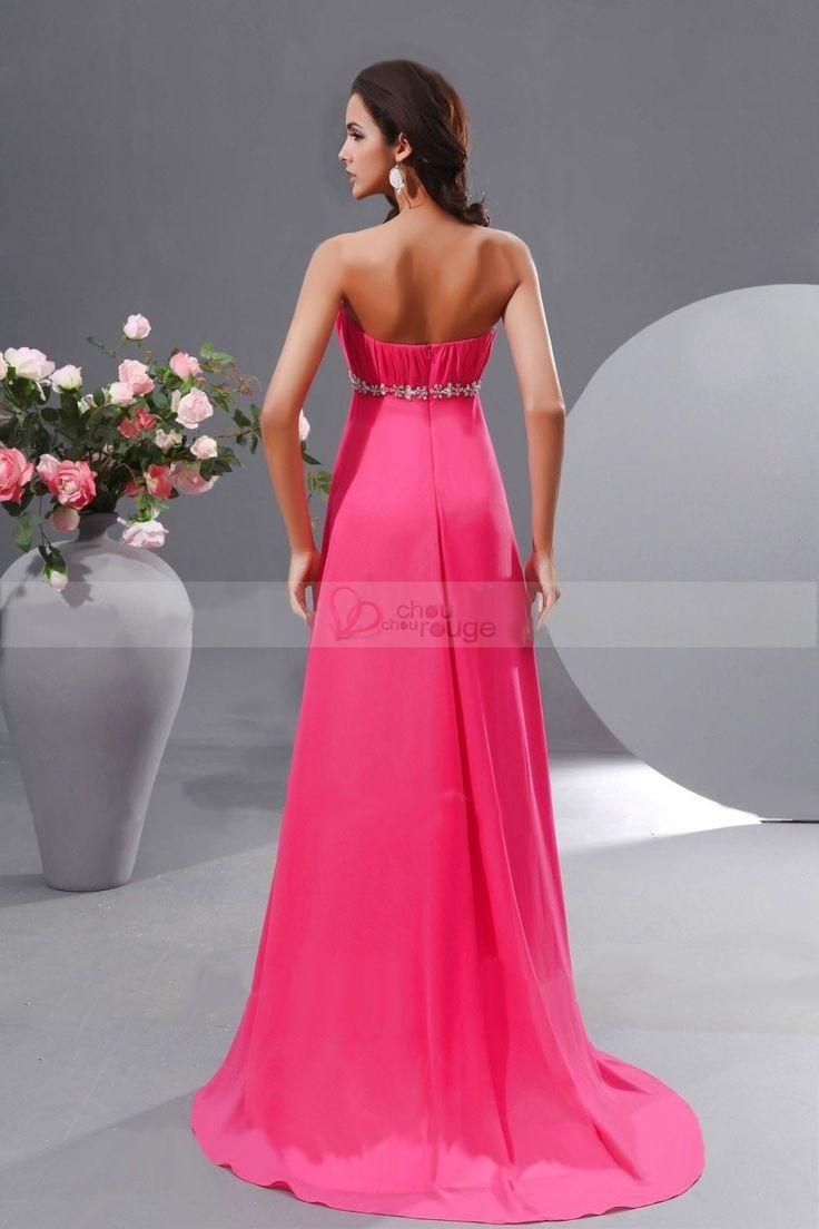 Robe rose fushia pour mariage
