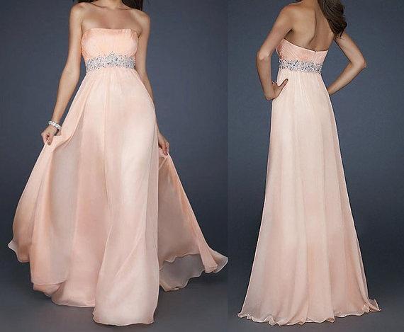 peach prom dress  peach dresses long prom dress di okbridal