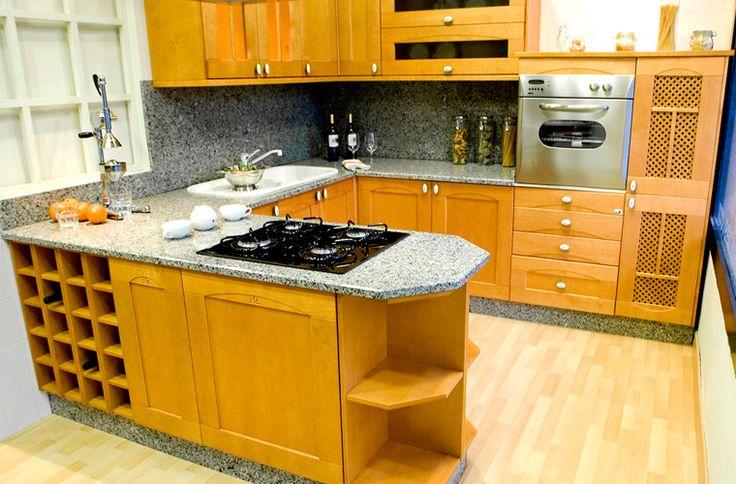 Cocina moderna 7 integrated kitchens pinterest for Rinconeras de cocina modernas